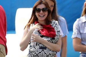 Элисон Ханниган показала новорожденную дочь