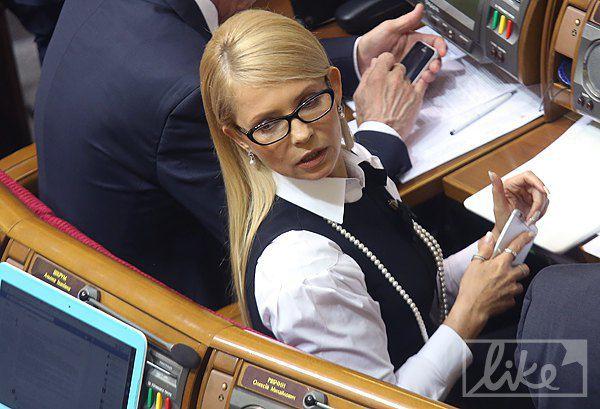 Обновленная Юлия Тимошенко