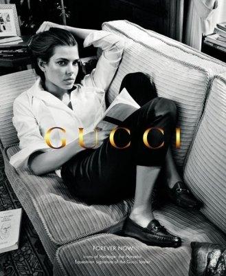 Принцесса Монако в рекламе обуви