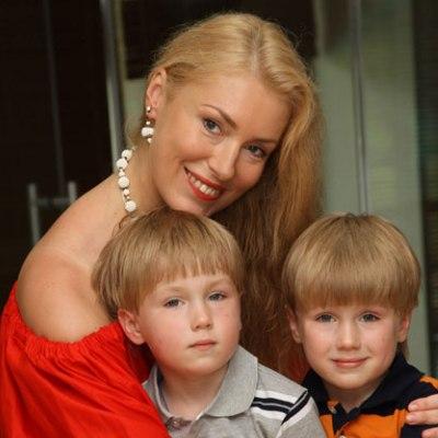 Мария с близнецами - Фокой и Фомой