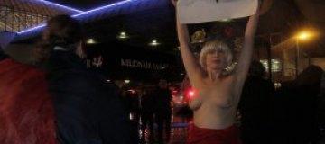 FEMEN оккупировали Амстердам