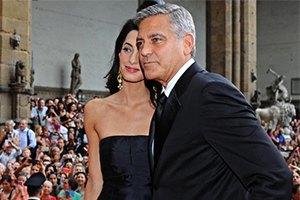 Джордж Клуни публично признался в любви своей невесте