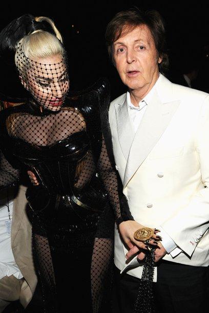 Леди Гага и сэр Пол Маккартни