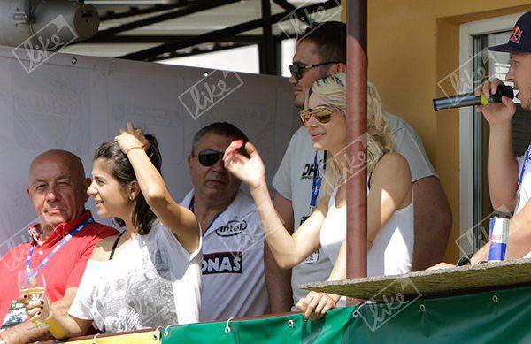 Виктор Янукович-младший и Светлана Лобода посетили Ukrainian Drift Championship 2013