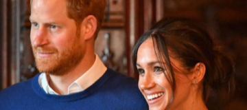 Меган Маркл и принц Гарри впервые вместе посетили Уэльс