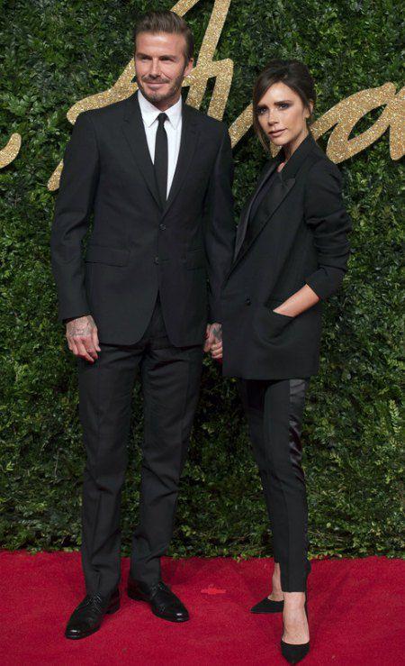 Девид и Виктория Бэкхем демонстрировали, что у их пары все хорошо