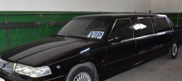 Обнаруженный в Одессе лимузин Кучмы намерены продать на аукционе