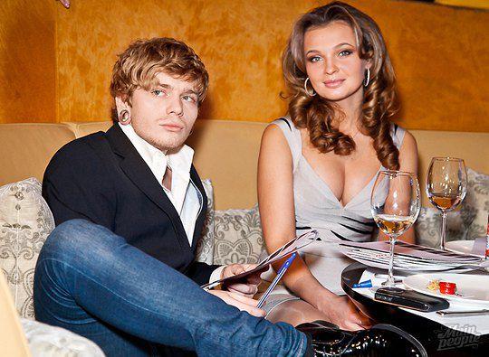 Александр Кривошапко и Анна Пославская