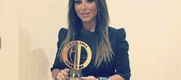 Ани Лорак наградили в Казахстане