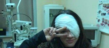 Руслана рассказала, почему ей прооперировали глаз