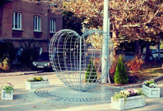 Влюбленное сердце в Одессе