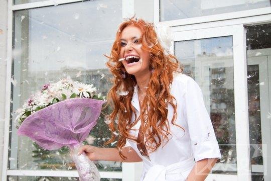 Теперь Слава официально замужем