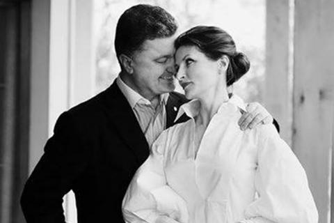 """""""С Днем рождения, моя единственная!"""": Порошенко трогательно поздравил жену"""