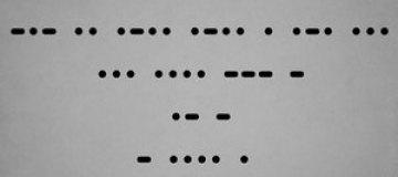 The Killers анонсировали новый сингл на азбуке Морзе