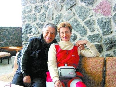 Эдуард Успенский с женой