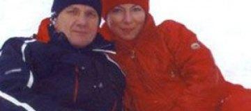 Литвин упал на лыжах в Карпатах