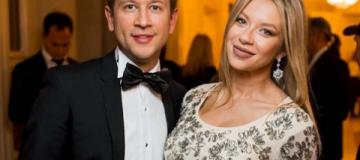 Жена Дмитрия Ступки родила ему первенца