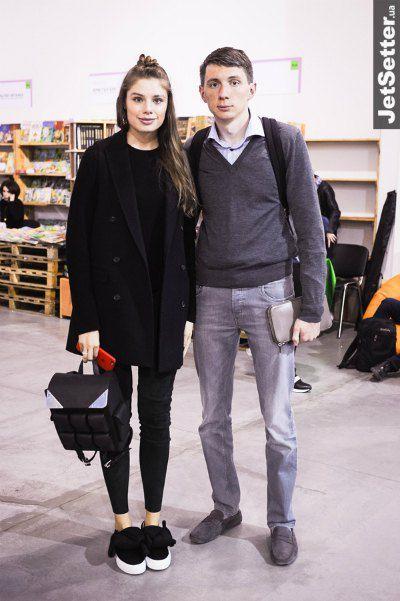 Дочка политика Андрея Деркача Татьяна Терехова и сын Владмира Литвина Иван