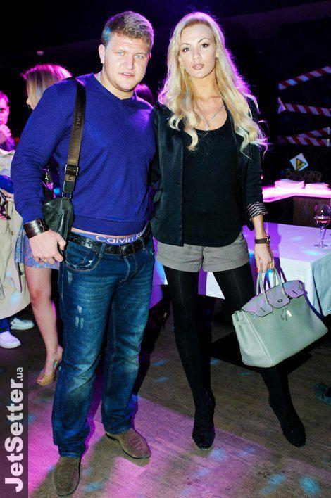 Алексей Кузнецов с женой Екатериной