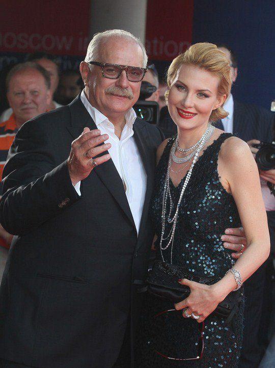 Президент ММКФ Никита Михалков и Рената Литвинова