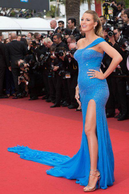 Актриса Блейк Лавли, которая беременна вторым ребенком