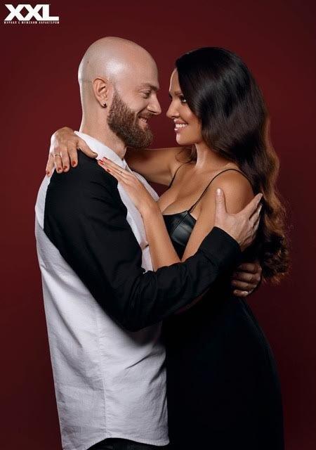 Танцор Влад Яма с женой Лилианой, которую очень редко показывает публике