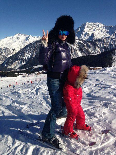 Депутат съездила в горы с дочкой