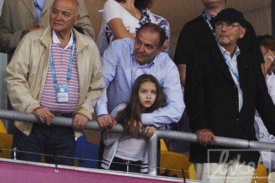 Виктор Пинчук с дочкой Екатериной