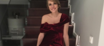 Молодая мама Катя Осадчая восхитила идеальной фигурой