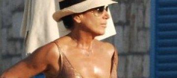 50-летняя Нэнси Делл`Ольо продемонстрировала отличную форму