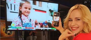 6-летняя дочь Лилии Ребрик снялась в кино в роли бездомной