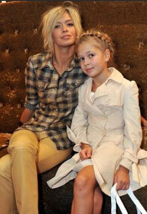 Брежнева с дочкой Соней