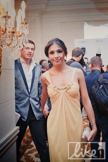 Певица Санта Димопулос с супругом Владимиром Самсоненко