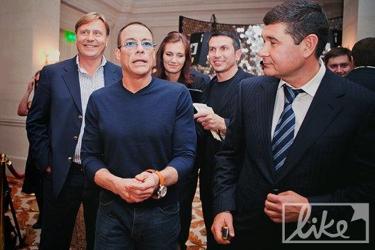 Жан-Клод Ван Дамм и Александр Онищенко