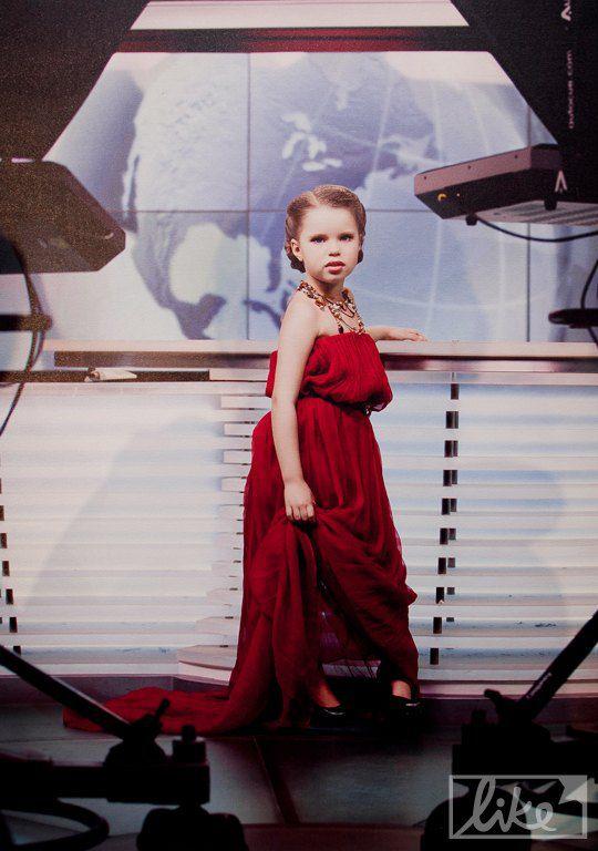 Дочь Лидии Таран и Андрея Доманского - Василина (5 лет)