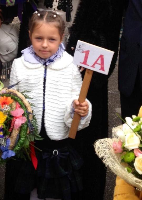 Дочь Анастасии Волочковой пошла в первый класс