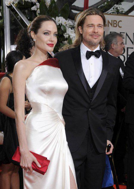 Пара в период между операциями Джоли