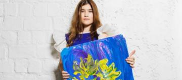 Виктория Тигипко похвасталась дочкой-художницей