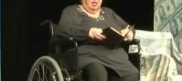 У Натальи Крачковской отказали ноги