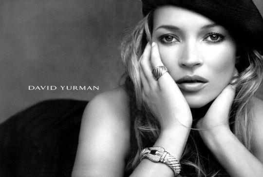 Кейт Мосс в фотосессии для David Yurman