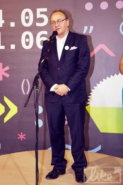 Первый день фестиваля посетил специальный гость - польский писатель Януш Леон Вишневский