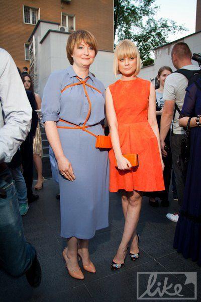 Организатор Ukrainian Fashion Week Ирина Данилевская (слева)