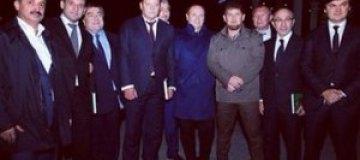 Иванющенко, Кернес и Добкин погуляли на празднике у Кадырова