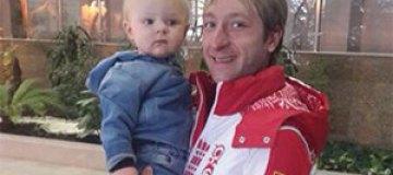 Рудковская и Плющенко привезли сына на Олимпиаду в Сочи