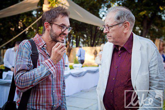 Павел Гудимов и Дэвид Эллиот