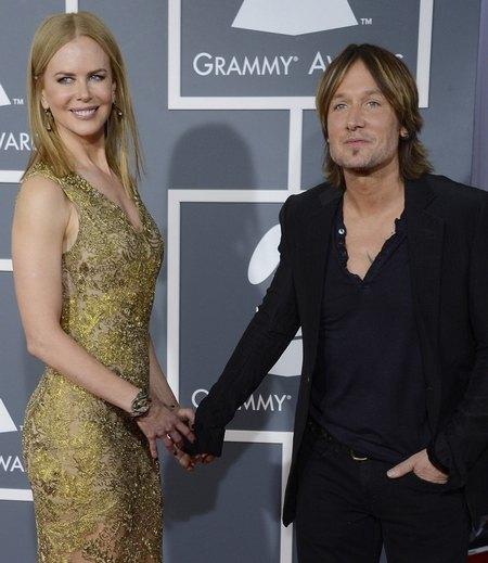Николь с мужем кантри-певцом Кейт Урбаном
