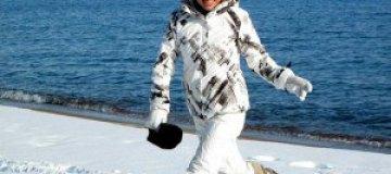 Ира Забияка встала на лыжи