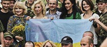 Украинские артисты поддержали боевой дух наших солдат