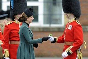 Принц Уильям и герцогиня Кэтрин отпраздновали День святого Патрика