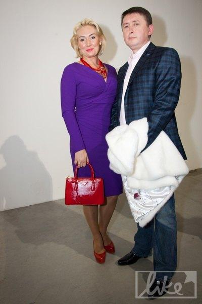 Телеведущая Наталья Розинская с мужем, экс-майором Николаем Мельниченко